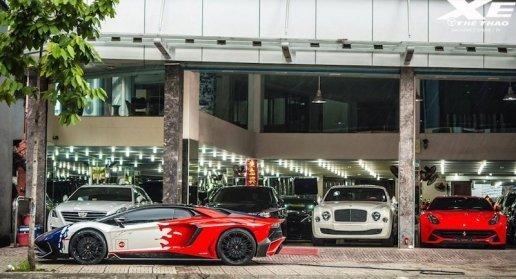 Minh Nhựa 'tiễn' Lamborghini Aventador SV dọn đường 'rước' siêu SUV Urus?