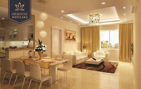 Nhiều khách hàng đặt cọc mua căn hộ Oriental Westlake