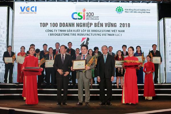 Bridgestone Việt Nam- 3 năm liền Top 10 DN phát triển bền vững