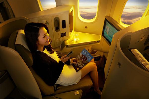 Vé hạng thương gia nội địa Vietnam Airlines có gì đặc biệt?
