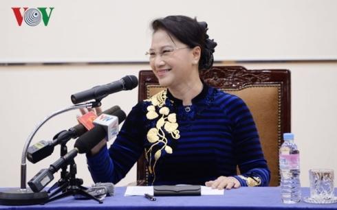 Chủ tịch QH nhận bằng tiến sĩ danh dự chính trị học của Hàn Quốc