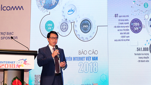 Những chỉ số nổi bật về tài nguyên Internet Việt Nam năm 2018
