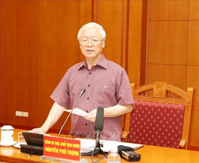 Thường trực Tiểu ban Văn kiện Đại hội 13 của Đảng họp phiên đầu tiên