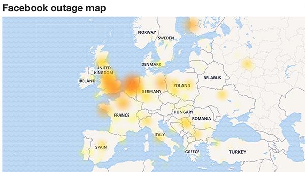 Facebook mất kiểm soát tại Châu Âu, người dùng bị đăng xuất hàng loạt