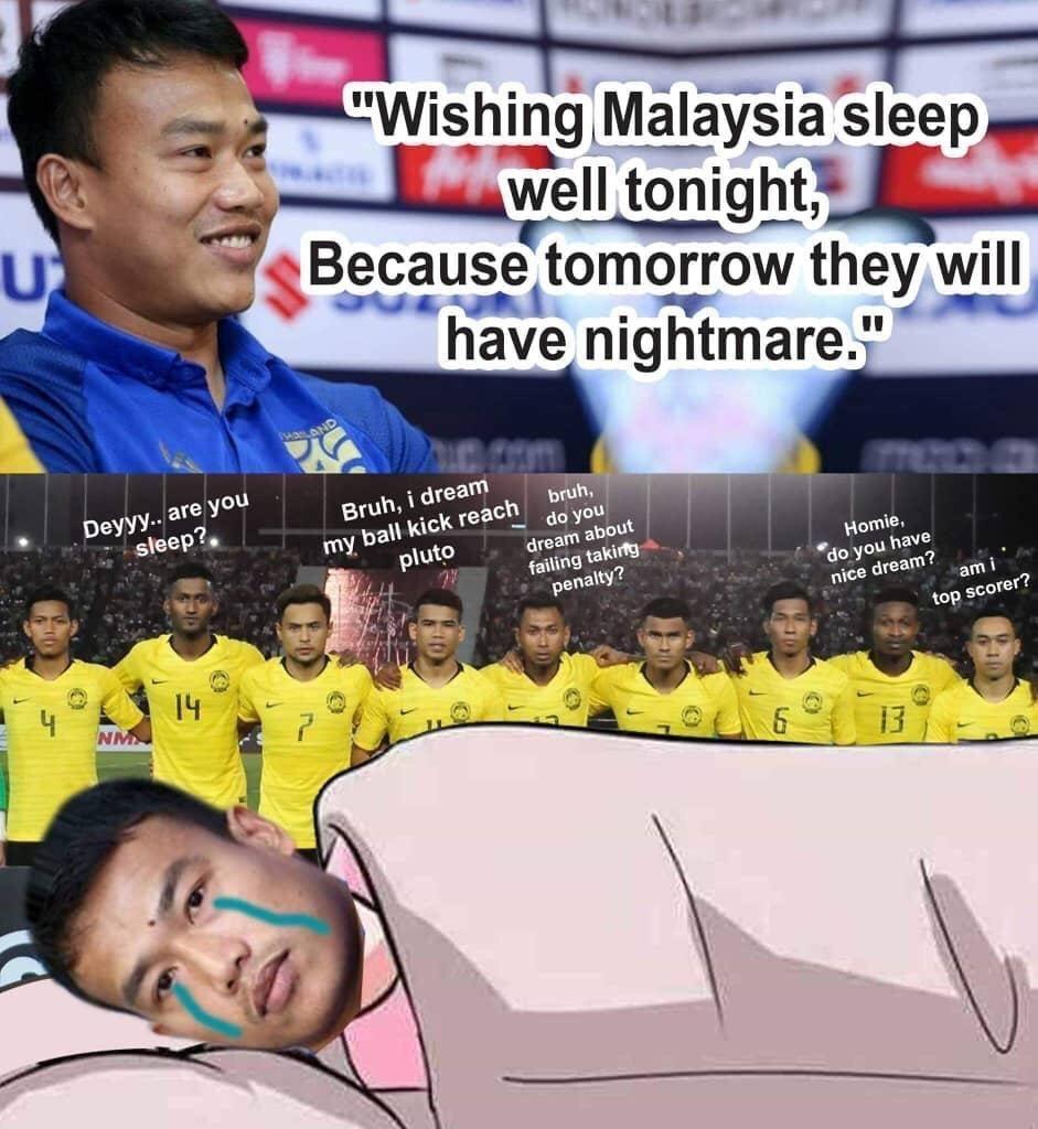 Thủ môn Thái Lan bị chế nhạo vì 'to mồm' trước Malaysia