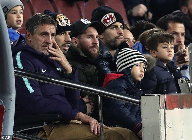 Barcelona dễ dàng thắng '4 sao' ở Cúp nhà Vua