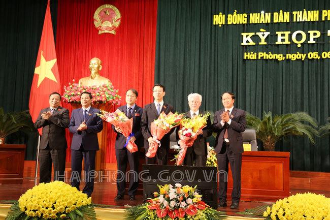 Bầu bổ sung Phó chủ tịch HĐND, UBND TP Hải Phòng