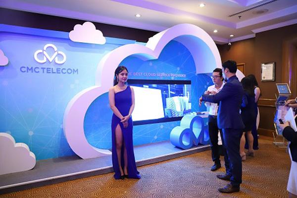 CMC Telecom trình diễn hệ sinh thái Cloud ở Internet Day 2018