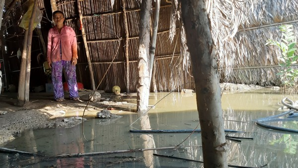 Lấp sông làm dự án kiếm lời, dân khốn khổ vì ngập lụt
