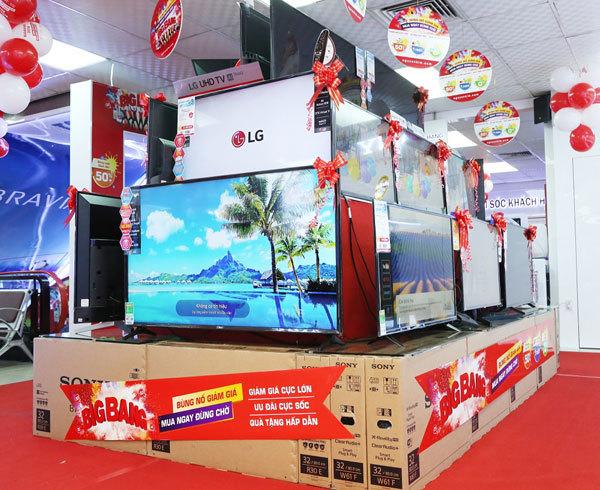 Nguyễn Kim khuyến mãi 'khủng' điện máy cuối năm