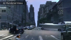 Công nghệ AI của Nvidia có thể tạo ra thế giới ảo từ video thực