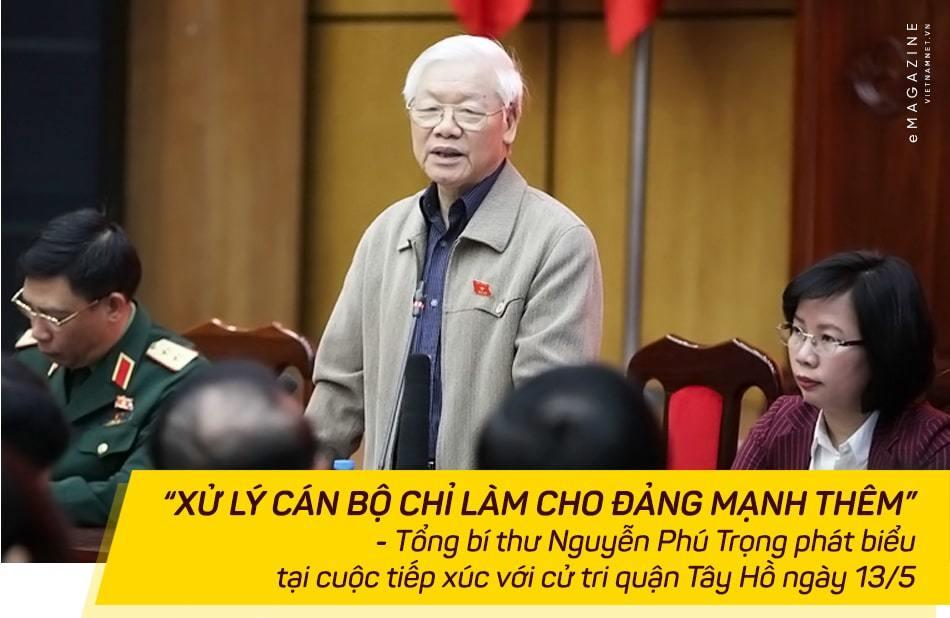 tham nhũng,Tổng bí thư Nguyễn Phú Trọng,Nguyễn Phú Trọng,Chủ tịch nước Nguyễn Phú Trọng,Trần Bắc Hà,Tất Thành Cang