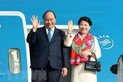 Thủ tướng Nguyễn Xuân Phúc tới Singapore dự Hội nghị Cấp cao ASEAN 33