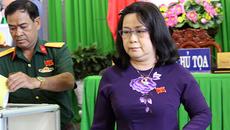 Nữ phó chủ tịch UBND TP Cần Thơ có phiếu tín nhiệm thấp nhất