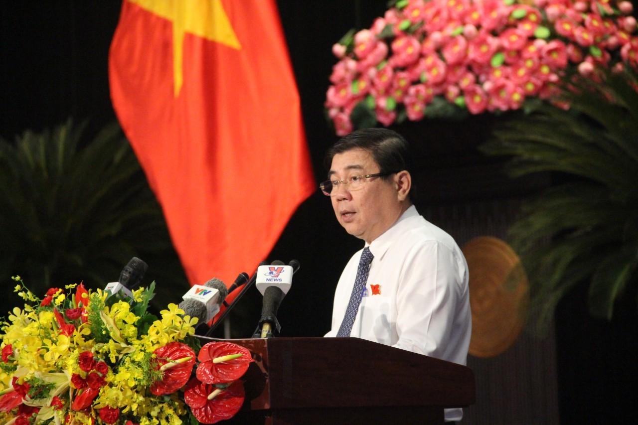 Lời phát biểu gây bức xúc dư luận của Chủ tịch UBND TPHCM