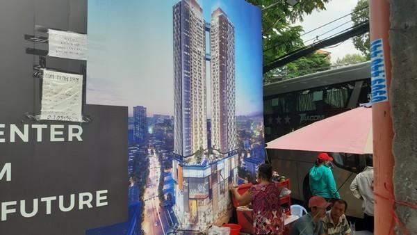 """""""Khu ổ chuột"""" cạnh căn hộ siêu sang thách giá 300 triệu/m2"""
