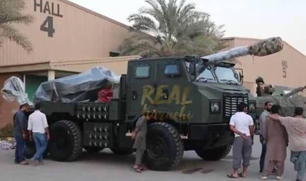 lục quân,pháo tự hành,Trung Quốc,Pakistan,đạn hạt nhân