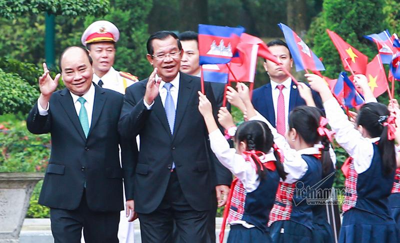 Thủ tướng Nguyễn Xuân Phúc,Nguyễn Xuân Phúc,Việt Nam-Campuchia,Hun Sen,Campuchia
