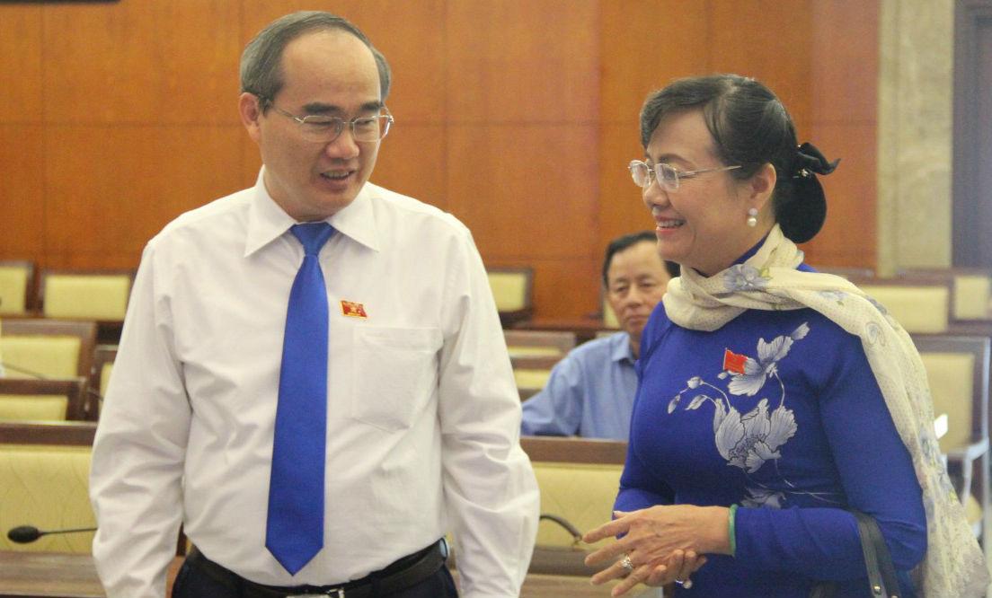 Bà Nguyễn Thị Quyết Tâm: 'Sớm ổn định cuộc sống người dân Thủ Thiêm'