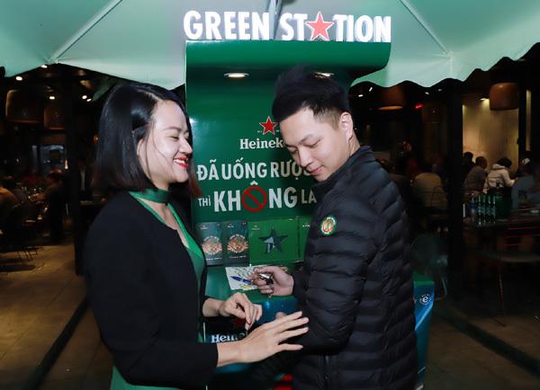 Green Ride đưa xe và người về nhà sau những cuộc vui