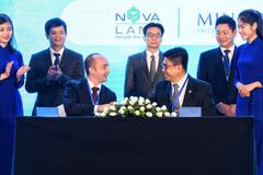 Novaland hợp tác chiến lược với các thương hiệu danh tiếng quốc tế