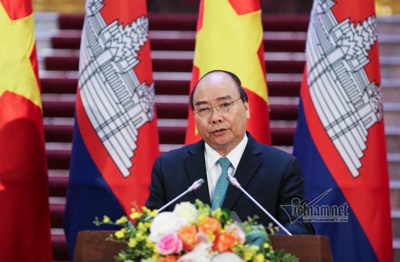 Thủ tướng Nguyễn Xuân Phúc,Nguyễn Xuân Phúc,Thủ tướng Campuchia,Hun Sen