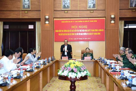 Bộ Chính trị,Trương Hòa Bình,Bộ Quốc phòng