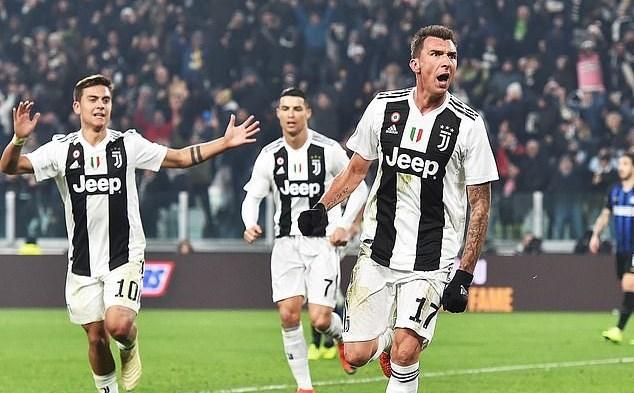 Juventus,Inter Milan,Ronaldo