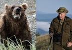 Putin kể chuyện bị gấu bao vây ở Siberia