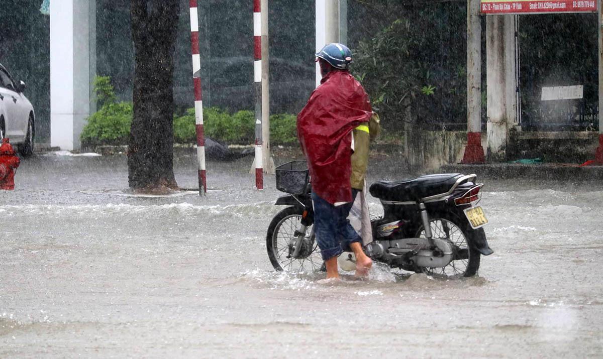mưa lũ,ngập lụt,Nghệ An