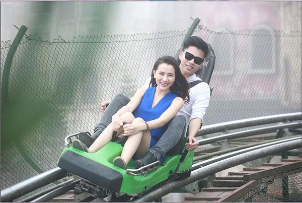 đường xe trượt ống,Đà Nẵng