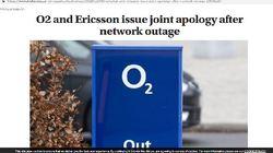 Ericsson xác nhận sự cố sập mạng và xin lỗi người dùng