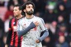 "Salah ""nổ"" hat-trick, Liverpool vùi dập Bournemouth"