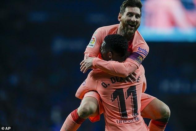 Messi vẽ 2 siêu phẩm, Barca củng cố ngôi đầu La Liga