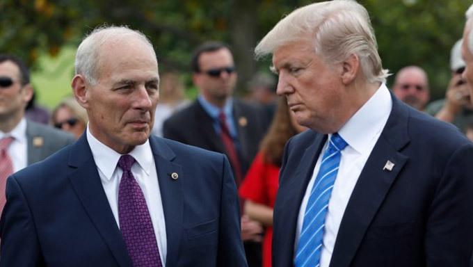 Kết quả hình ảnh cho Ông Trump bất ngờ thay 'Tổng quản' Nhà Trắng