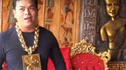 Tận mắt cơ ngơi dát vàng của đại gia đeo 13kg vàng cổ vũ tuyển Việt Nam