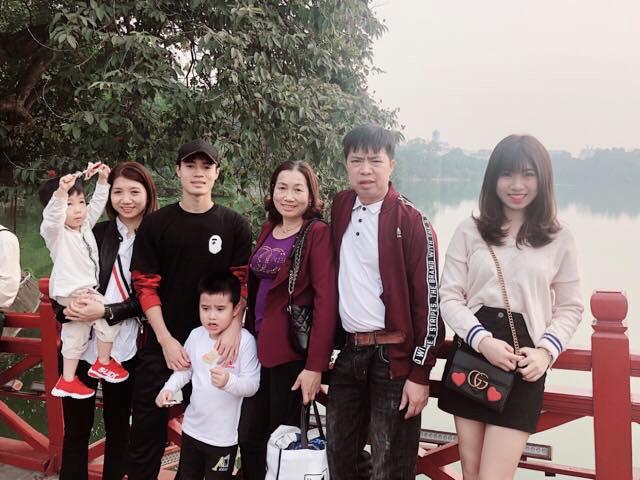 Ngoại hình nổi bật của em cầu thủ đội tuyển Việt Nam