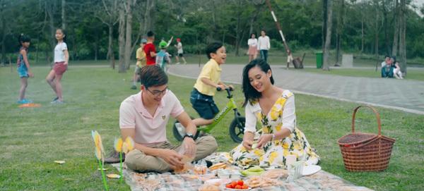 Phân khu Flower Garden tại Hồng Hà Eco City