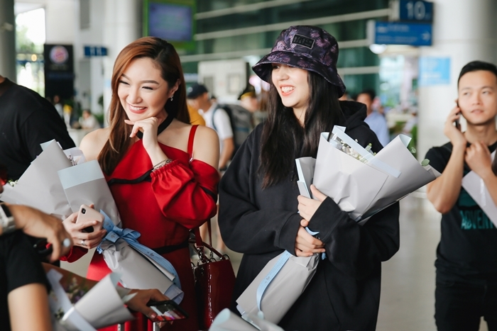 Phương Khánh đón cựu Hoa hậu Trái đất Karen Ibasco đến Việt Nam