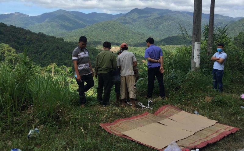 Hiện trường Bắt đối tượng đốt xác vợ phi tang gây rúng động ở Lâm Đồng