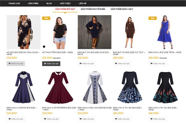 Himistore - thời trang dành riêng cho người mập
