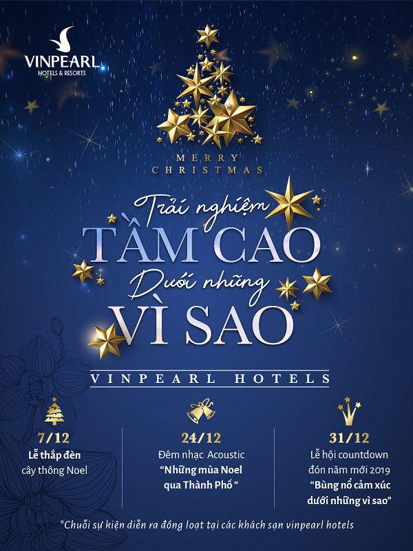Trải nghiệm mùa lễ hội đẳng cấp ở Vinpearl Hotels