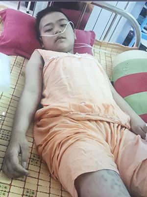 Lời van xin đau đớn của bé gái bị bệnh ung thư máu