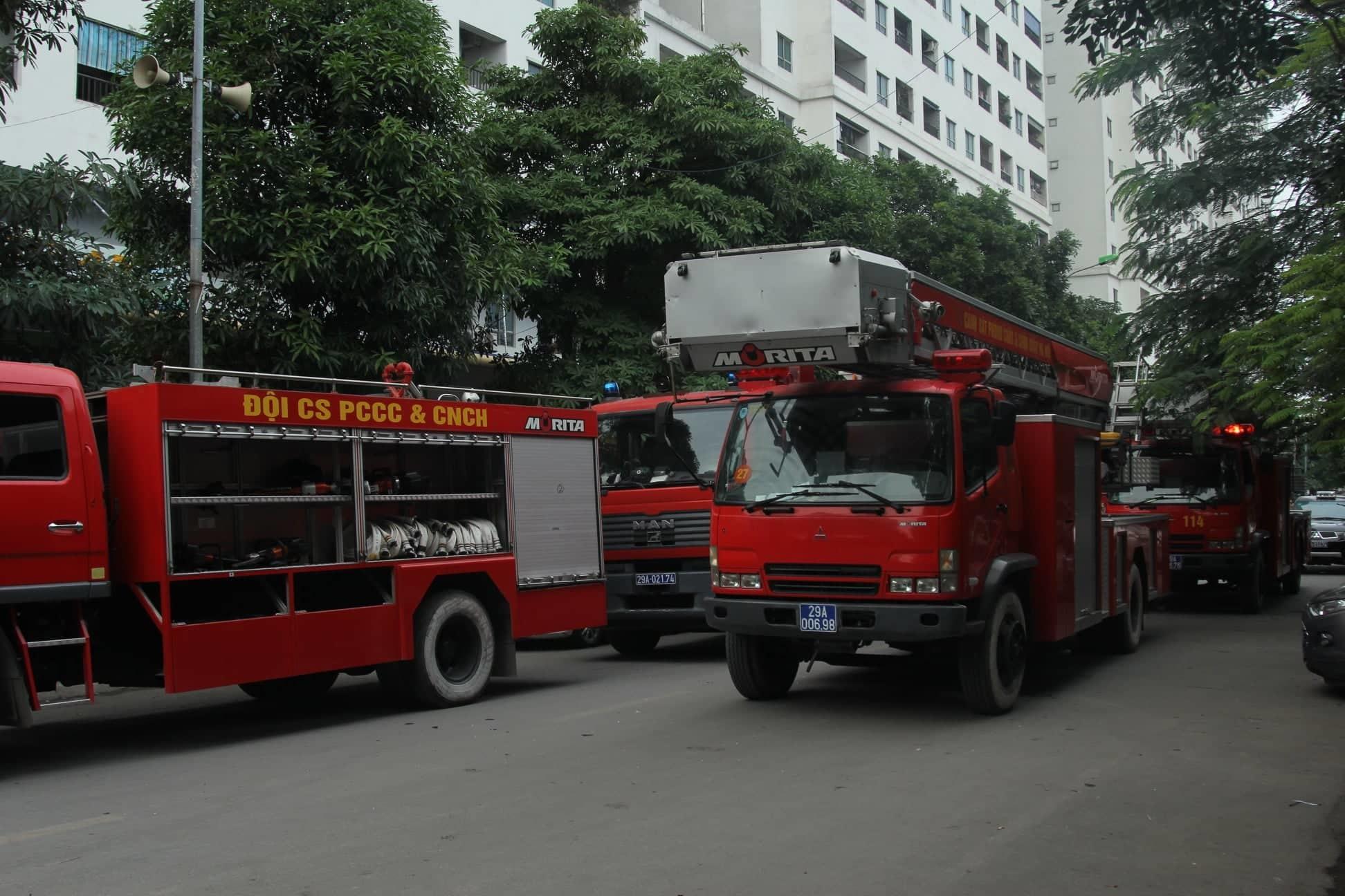 Phát hiện thi thể 1 phụ nữ sau vụ cháy tầng 31 chung cư Linh Đàm