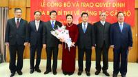 Nữ Thứ trưởng Ngoại giao nhận quyết định của Ban Bí thư