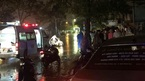 Ngập lụt Đà Nẵng: Điện giật ngã xuống đường, chồng chết, vợ nguy kịch