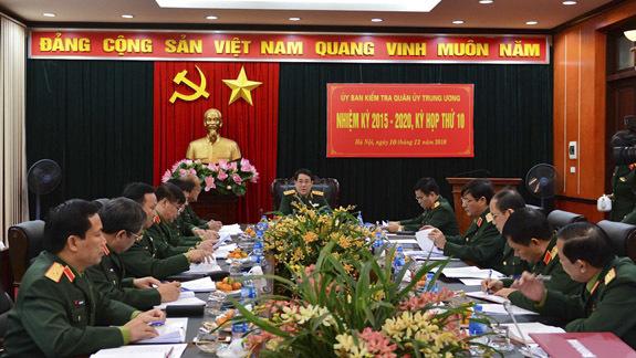 Ủy ban Kiểm tra Quân ủy TƯ đề nghị tước danh hiệu quân nhân 5 người