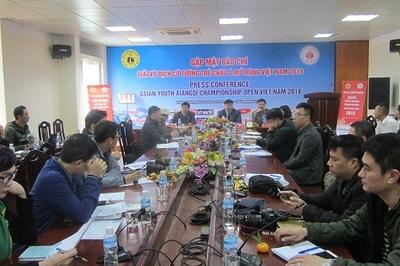 Hơn 100 kỳ thủ dự giải cờ tướng trẻ châu Á mở rộng Việt Nam 2018