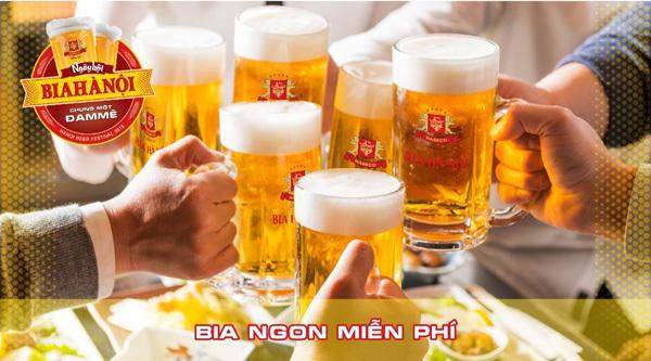Trải nghiệm mới mẻ tại Ngày hội bia Hà Nội 2018