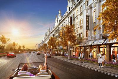 Ra mắt shophouse phong cách châu Âu ở Hạ Long